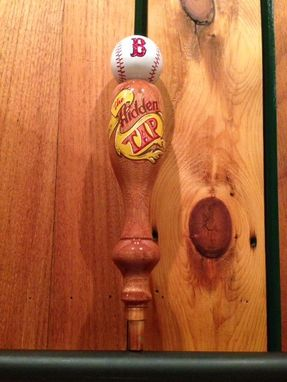 Custom Made Red Sox Fan Tap Handle