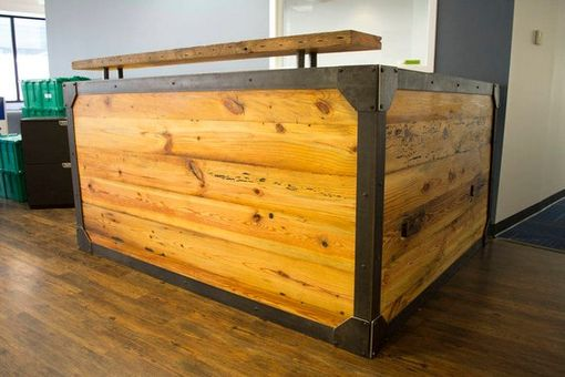 Custom Made Reclaimed Reception Desk