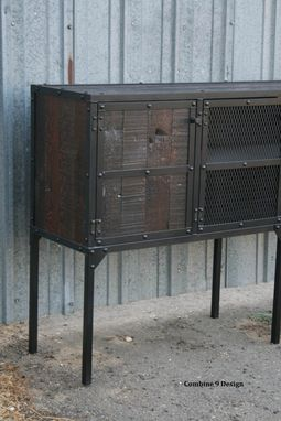 Custom Made Buffet/Hutch. Vintage Industrial Modern. Distressed, Reclaimed Wood. Rustic. Media Console, Tv Stand