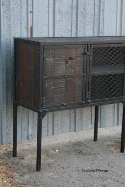 Buy A Custom Made Buffet Hutch Vintage Industrial Modern
