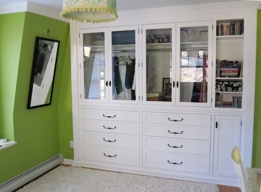 Custom Made Bedroom Built-In Cabinetry In Traditional Style