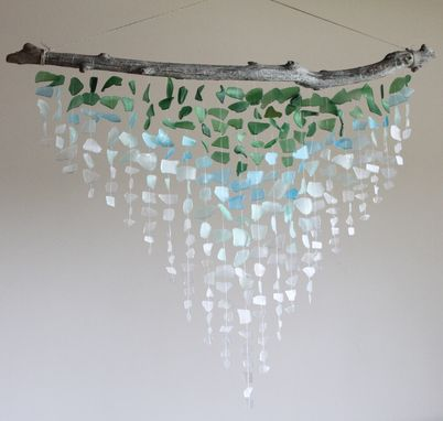 Custom Made Custom Sea Glass Mobile