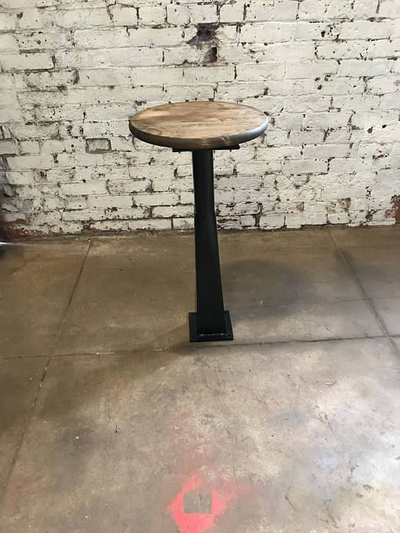 Buy A Handmade Bolt Down Bar Stool Made To Order From