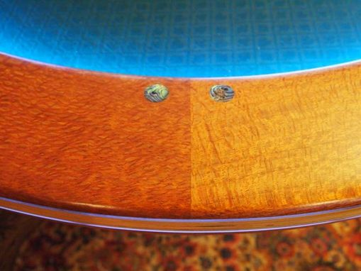 Custom Made Lacewood Texas Hold Em Table