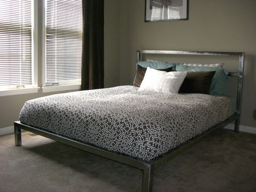 Custom Made Welded Platform Bed