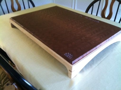 Custom Made Personalized End Grain Cutting Board / Serving Tray
