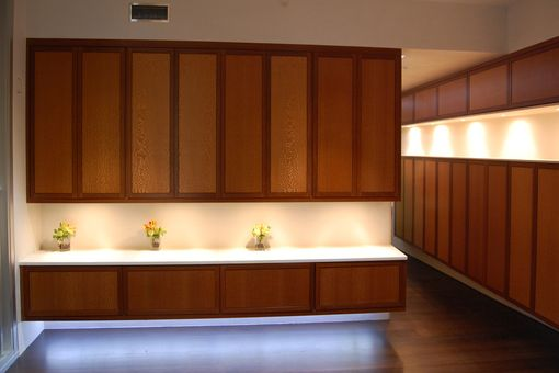 Custom Made Lacewood Cabinets