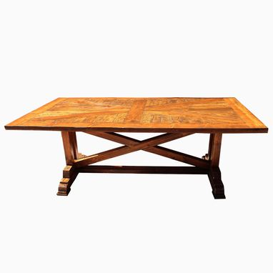 Custom Made Custom Colonial Rustic Table