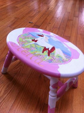 Custom Made Personalized Pinto Stool