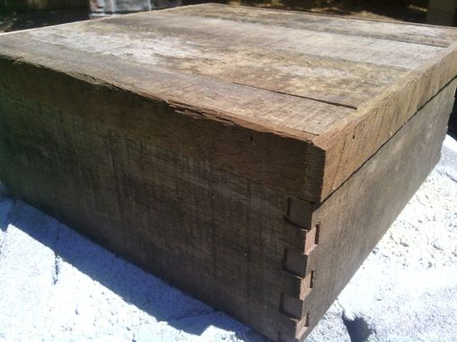 Custom Made Repurposed Walnut Barn Wood Box