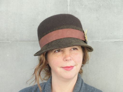 Custom Made Women's Wool Felt Bowler/Derby Hat-Custom Design Ladies Hat-Custom Order