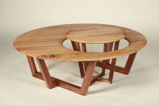 Custom Made Mother And Cub Table Set