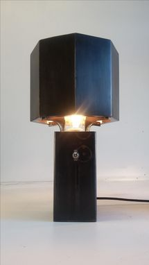 Custom Made Stieglitz Table Lamp Pair