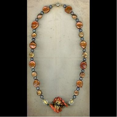 Custom Made Naranja Pearl Necklace