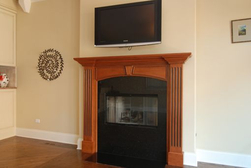 Custom Made Custom Made Cabnets And Fire Mantels