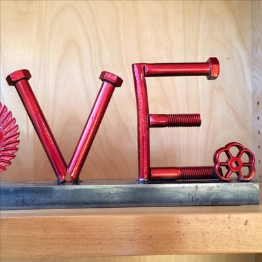 Custom Made Love - A Valentine Sculpture