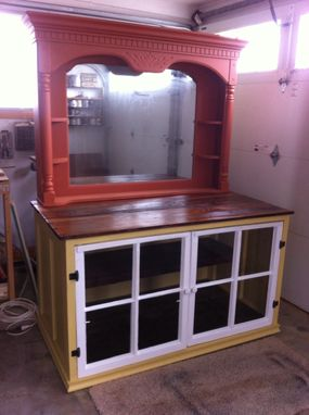 Custom Made Back Bar Cabinet