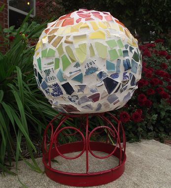 Custom Made Mosaic Garden Ball