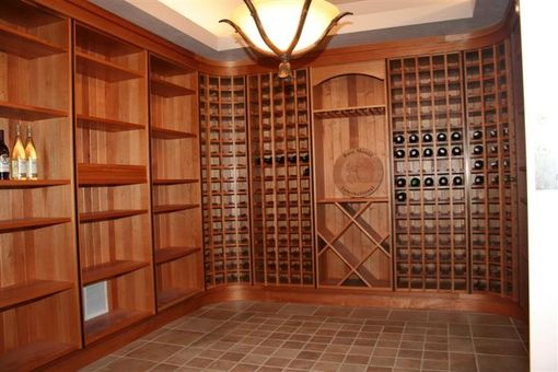 Custom Made Custom Wine Cellar