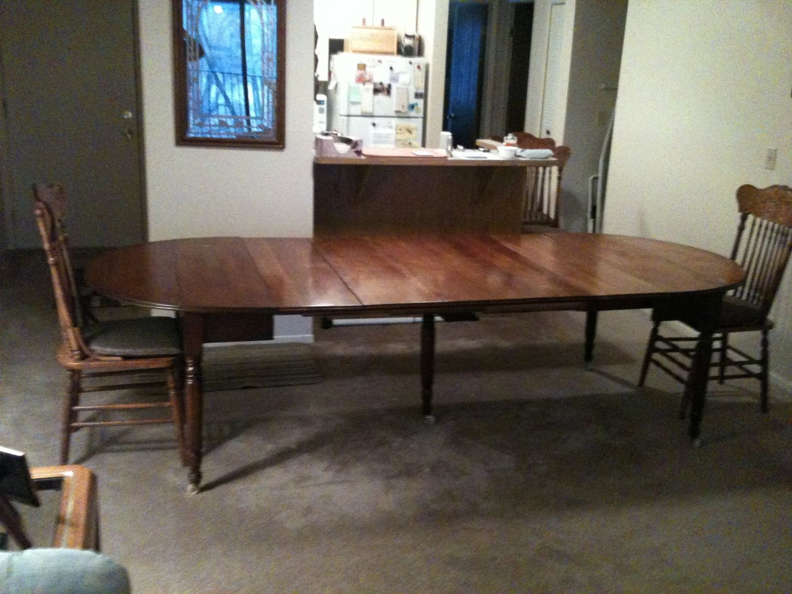 Custom Replacement Of Five 5 Table Leaves To A Family Antique Dining By The Plane Edge Llc Custommade