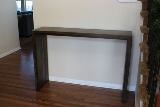 Custom Made Waterfall Hall Accent Table