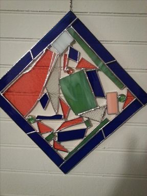 Custom Made Stained Glass Wall Art - Fun With Scraps
