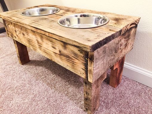 Custom Made Elevated Dog Bowl