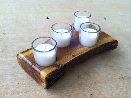 Custom Made Candle Holder, Texas Mesquite Candle Holder, Home Decor, Weddings
