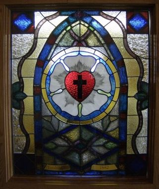 Custom Made St. Luthers Rose Window