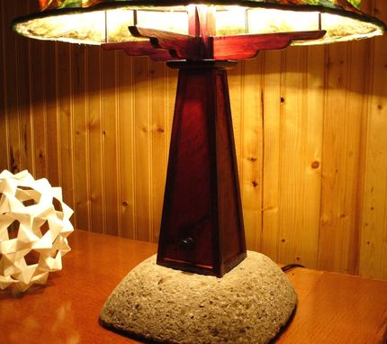 Custom Made Craftsman Style Table Lamp