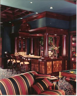 Custom Made Cherry Library/Bar