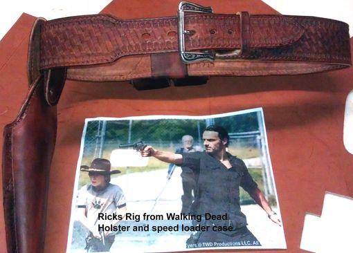 Custom Made Ricks Walking Dead Holster Set