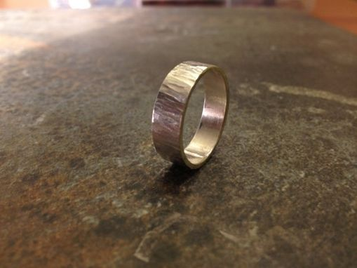 Custom Made Sterling Silver Unisex Ring
