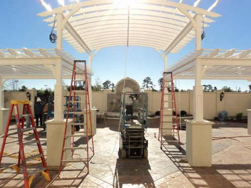 Custom Made Large Commercial Pergola