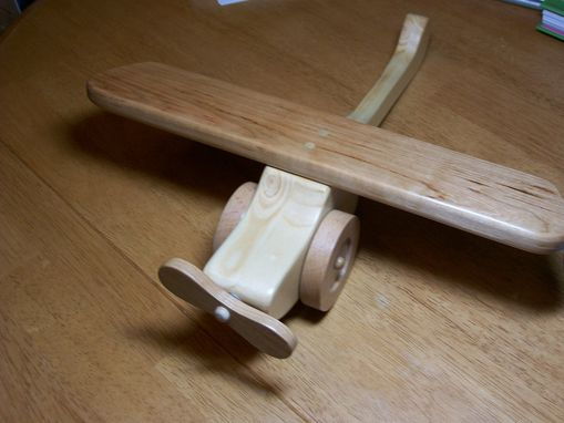 Custom Made Children's Wooden Airplanes