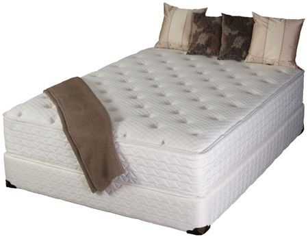 Custom Made Natural Foam Plush Mattress