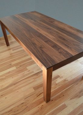 Custom Made Solid Walnut Dining Table By Fabitecture Custommade Com