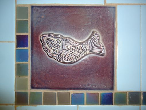 Custom Made Fish Tile