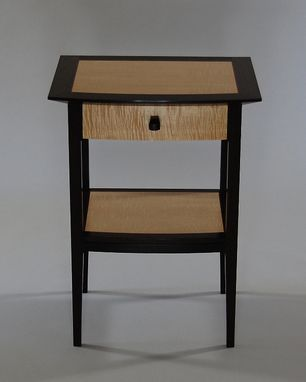 Custom Made Wenge Bedside Tables