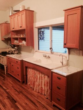 Custom Made Mod Victorian Kitchen Cabinetry