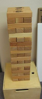 Custom Made Giant Wood Block Game