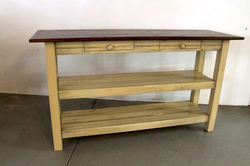 Kitchen Island Reclaimed Wood