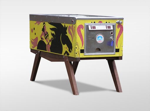 Custom Made Repurposed Upcycled Pinball Desk