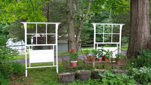 Custom Made Colonial Trellis With Panel