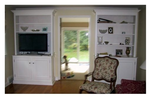 Custom Made Traditional Painted Wall Unit