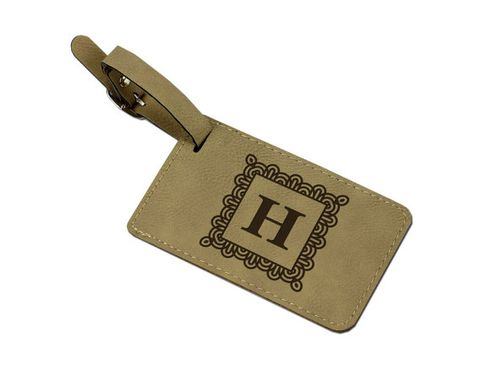 Custom Made Leatherette Luggage Tag