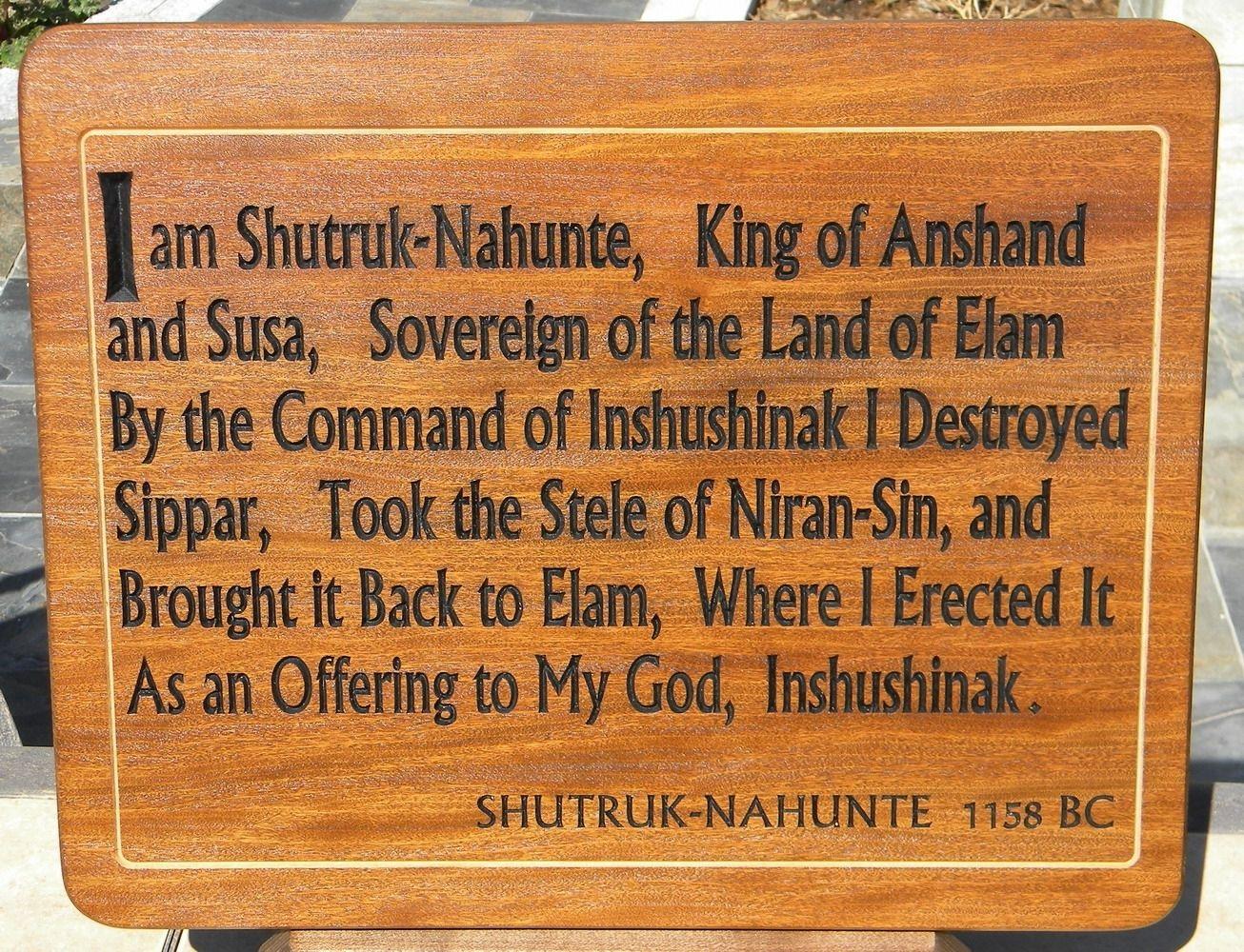 emperors club plaque