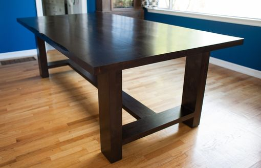 Custom Made Solid Alder Dining Table
