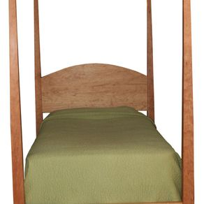 bed tall posts in natural cherry by michael mcguire - Post Bed Frames