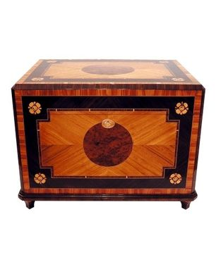 Custom Made Cigar Humidor 300 (French Baroque Style)